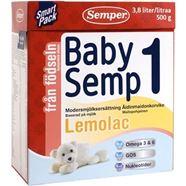 Bild på Semper Babysemp1 Lemolac Från födseln 500g