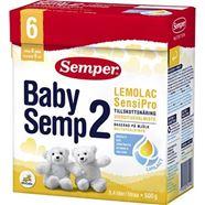 Bild på Semper BabySemp2 Lemolac SensiPro Från 6m 500g