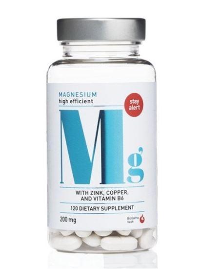Bild på Biosalma Magnesium 200 mg 120 tabletter
