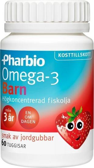 Bild på Pharbio Omega-3 Barn 60 kapslar