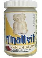 Bild på Minallvit Vanilj/Hallon 60 st