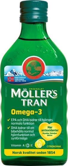 Bild på Möllers Tran Torskleverolja 250 ml