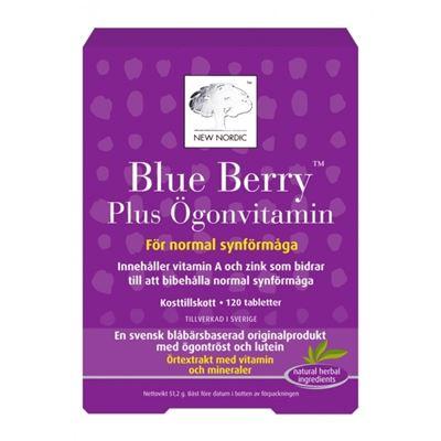 Bild på New Nordic Blue Berry Plus Ögonvitamin 120 tabletter