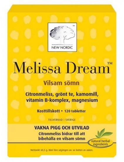 Bild på Melissa Dream 120 tabletter
