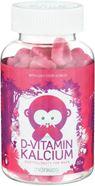 Bild på Monkids D-vitamin + Kalcium 60 tuggtabletter