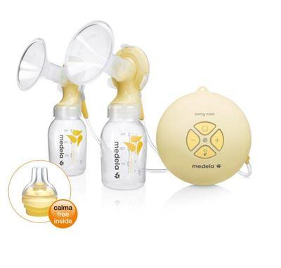 Bild på Medela Swing Maxi elektrisk dubbelbröstpump med Calma