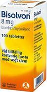 Bild på Bisolvon, tablett 8 mg 100 st