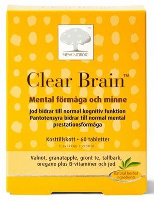 Bild på New Nordic Clear Brain 60 tabletter