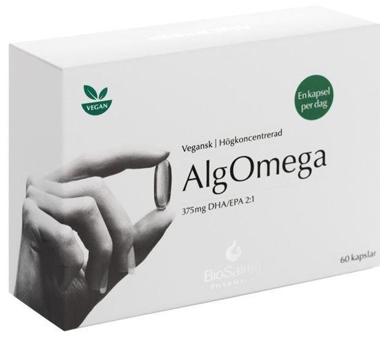Bild på BioSalma Pharmacy AlgOmega 60 kapslar
