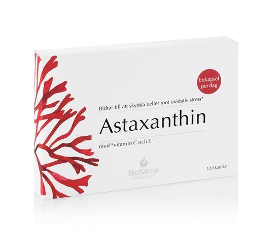 Bild på BioSalma Astaxanthin 120 kapslar