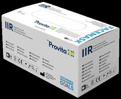 Bild på Provita Medical Munskydd IIR 50 st